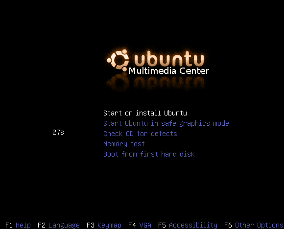 Ubuntu Multimedia Center
