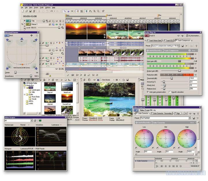 Sony Vegas Pro 8.0a Build 179 繁體中文化版圖片3