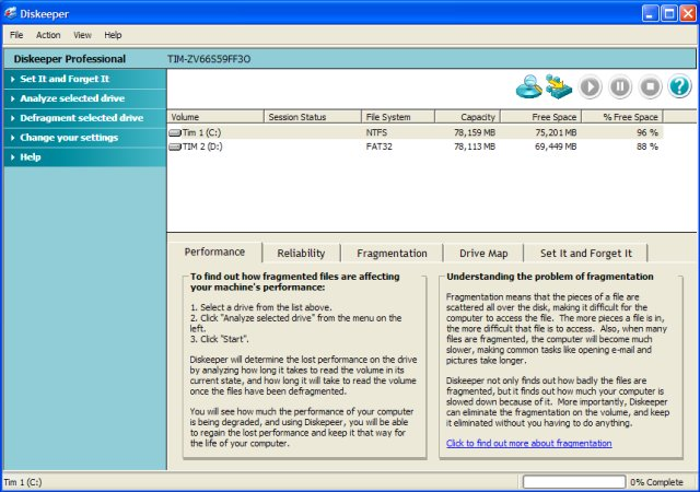 Найти ключ к програме или кряк diskeeper pro 2008.